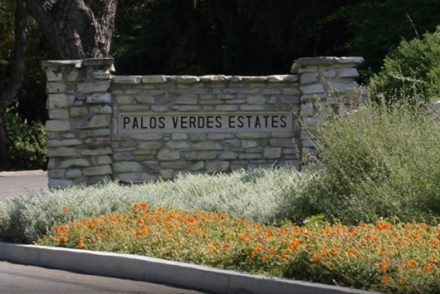 PVE sign along Via Valmonte Drive