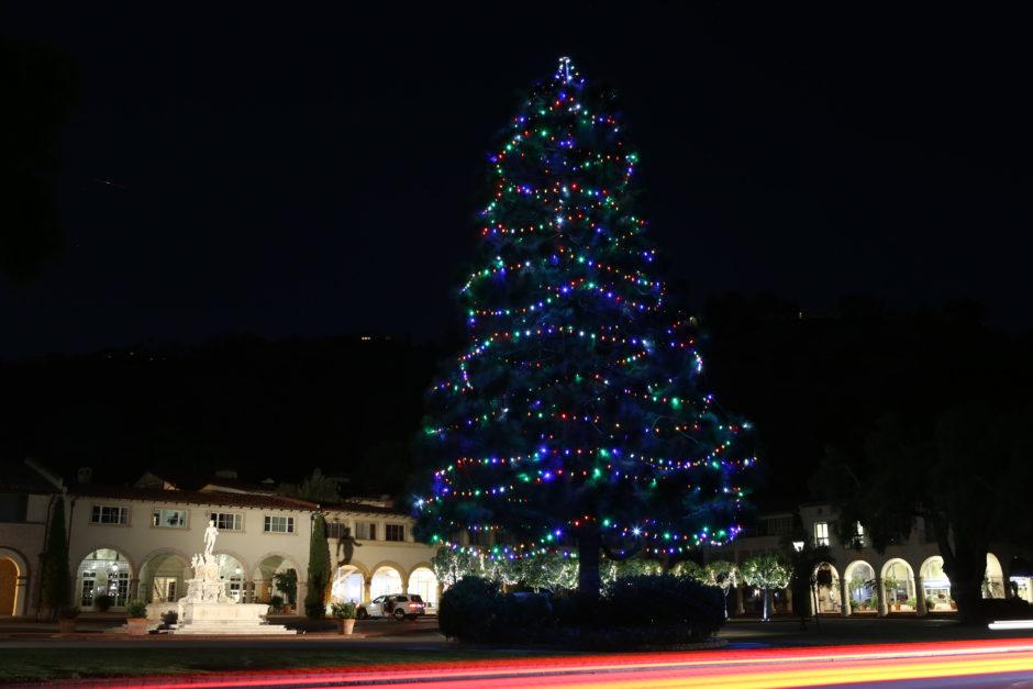 Quiet December night in Malaga Cove